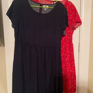 Two for one old navy dresses